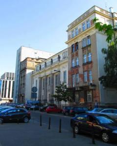 Gmach Biblioteki Ordynacji Krasińskich obecnie