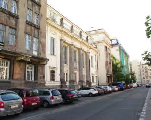 Gmach Biblioteki Ordynacji Krasińskich obecnie.