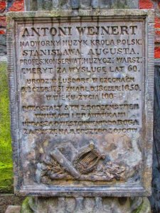 Grób Antoniego Wejnerta.