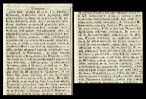 Gazeta Warszawska - rok 1845 nr 307