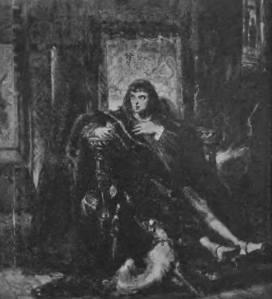 Śmierć ostatniego księcia mazowieckiego. Obraz Jana Matejki w zbiorach Zamku Królewskiego.