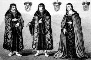 Ostatni książęta mazowieccy – Janusz, Stanisław i Anna. Tygodnik Ilustrowany, 1862