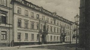 """Ulica Jasna 26 (Hotel """"Victoria"""" przed II wojną światową."""