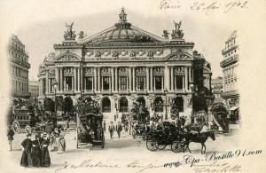 Gmach opery w Paryżu.