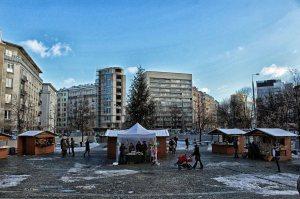 Plac Politechniki współcześnie.
