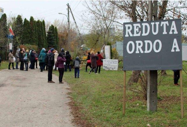 Redutę Ordona zwiedzaliśmy jesienią 2016 roku.