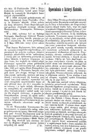 Zorza - 6 czerwca 1885.