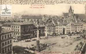Warszawa Stara pocztówka. (13)
