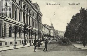 Warszawa Stara pocztówka. (9)