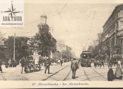 Warszawa początek XX wieku. Pocztówka. Wojutyński (1)