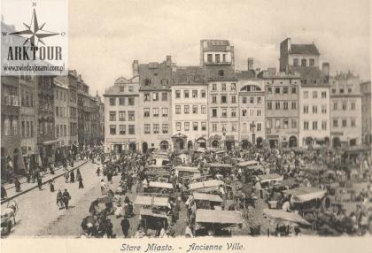 Warszawa początek XX wieku. Pocztówka. Wojutyński (34)