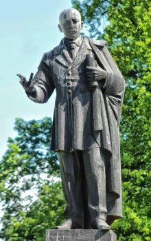 Pomnik Edwarda M. House'a obecnie.